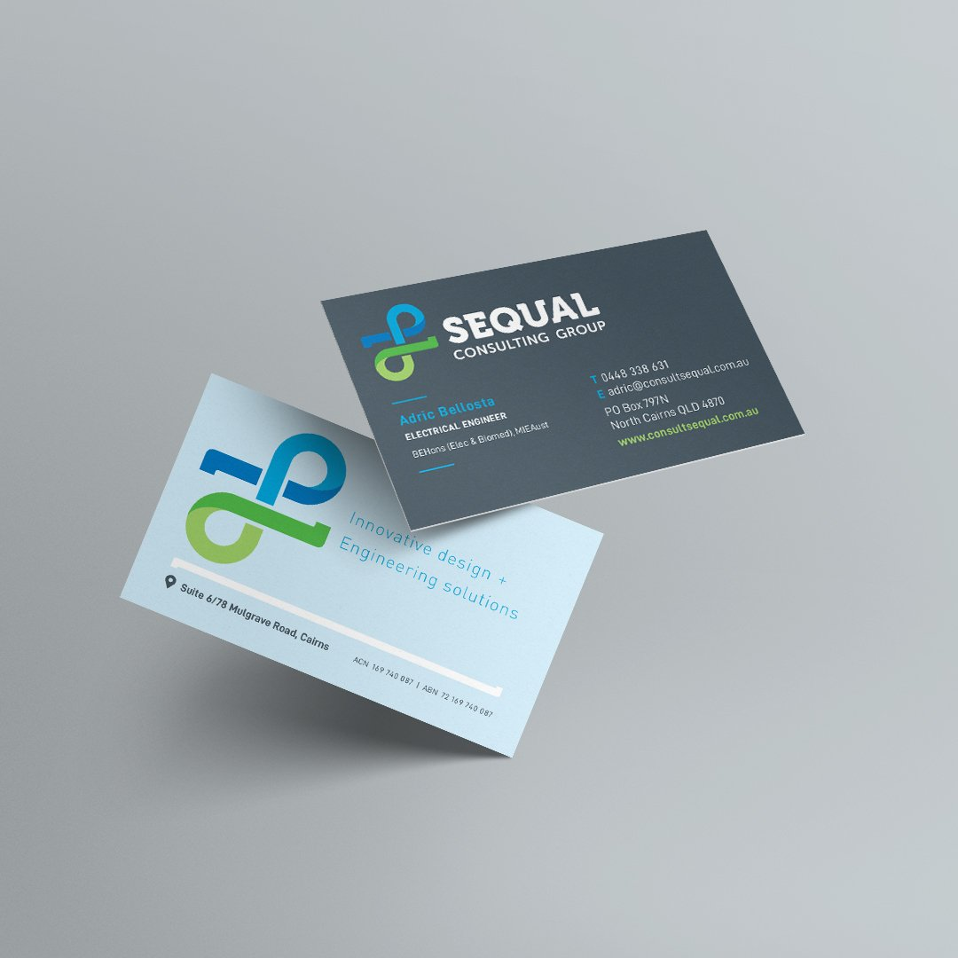 SEQUAL Business Cards